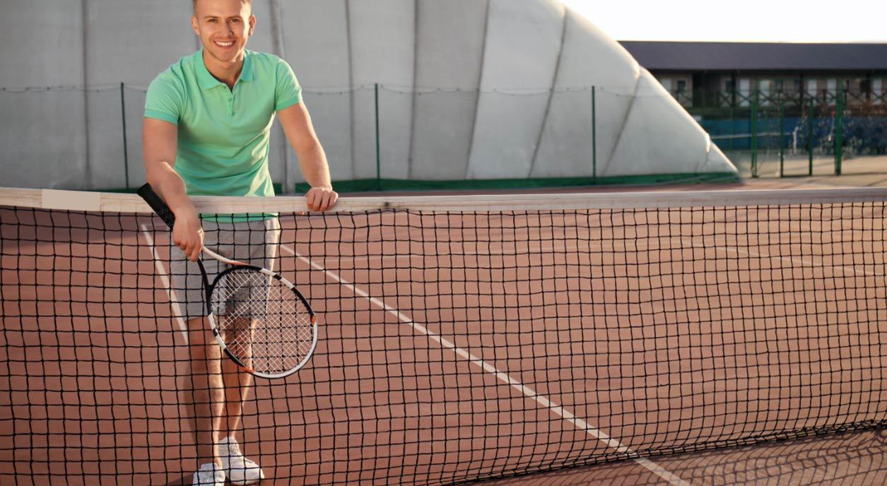 Asphalt Tennis Court Conversion