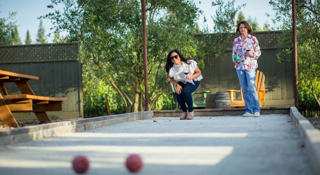 Bocce Ball Court Game