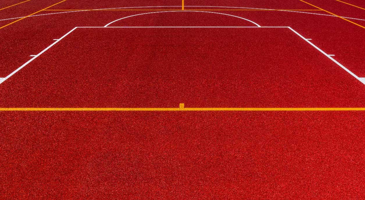 Resurfacing of the Basketball Court