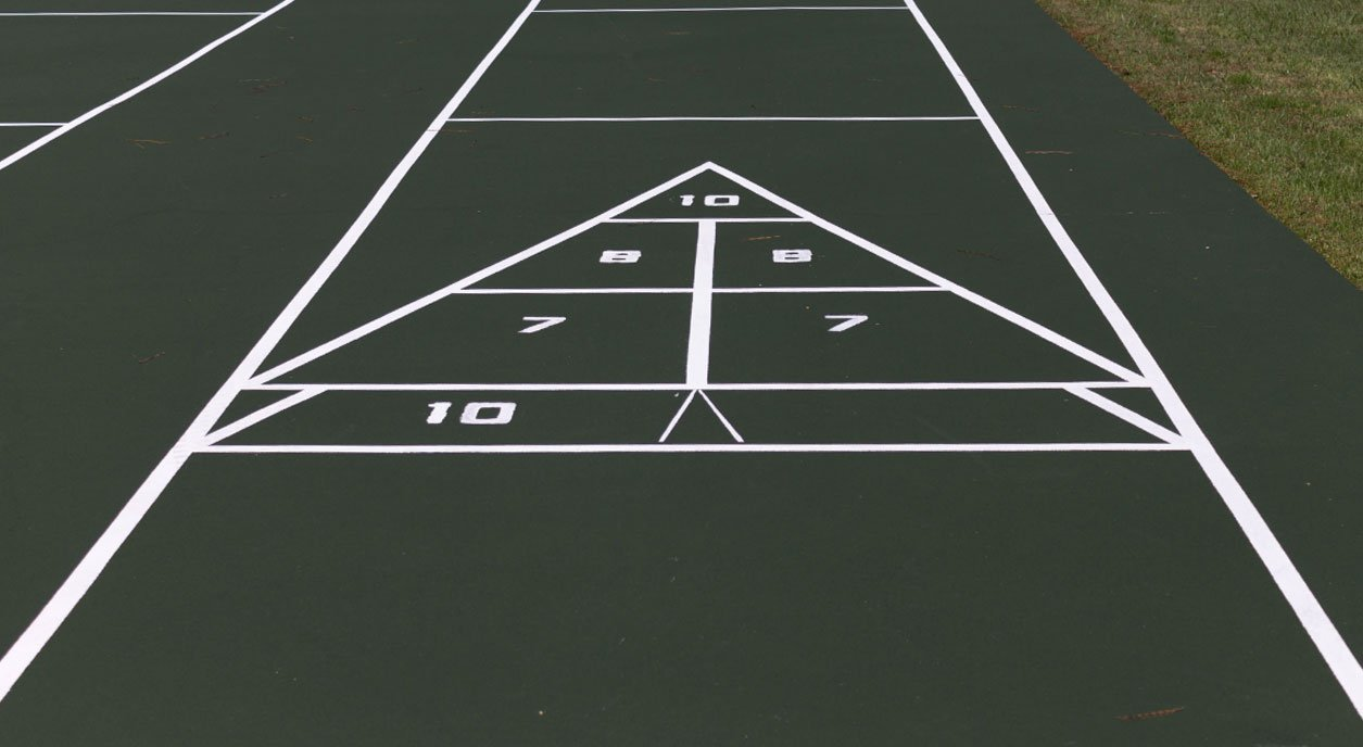 Shuffleboard Court Surface