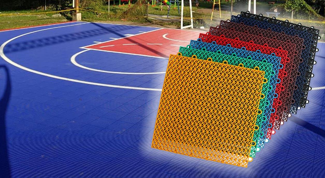 Sport Court® or multi-purpose court resurfacing