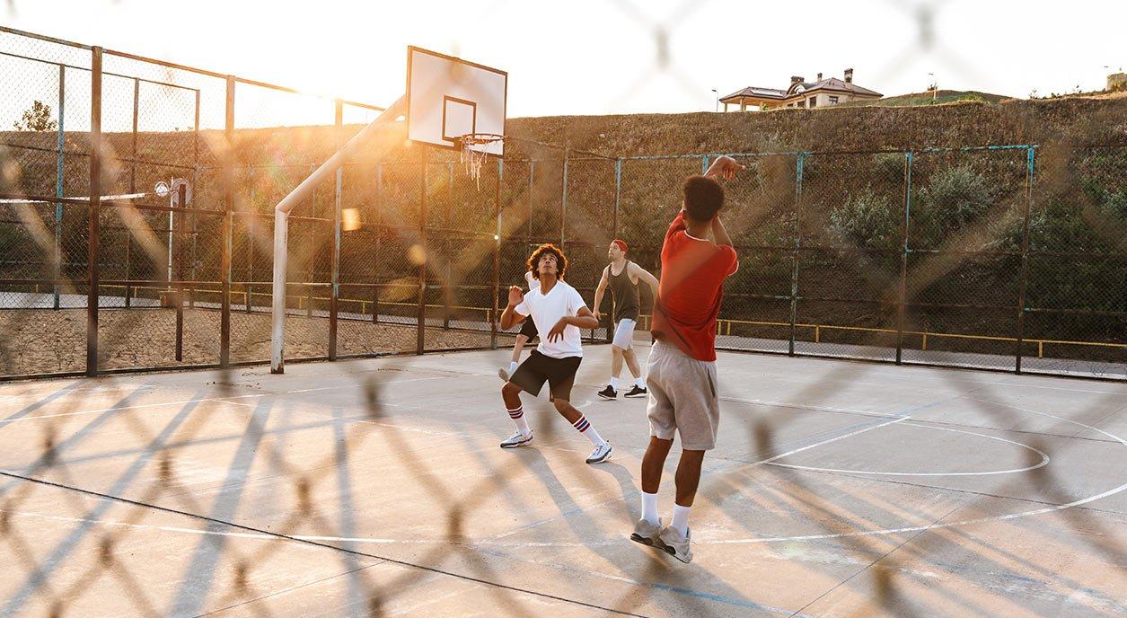 Basketball Court Construction in Florida