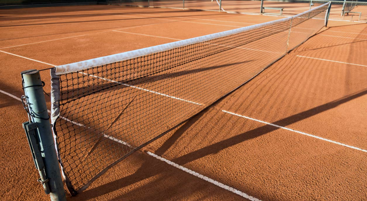 Tennis Court Har Tru Clay Service