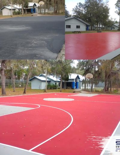 Sport Surfaces LLC Georgia Sport Surface Contractor basketball court