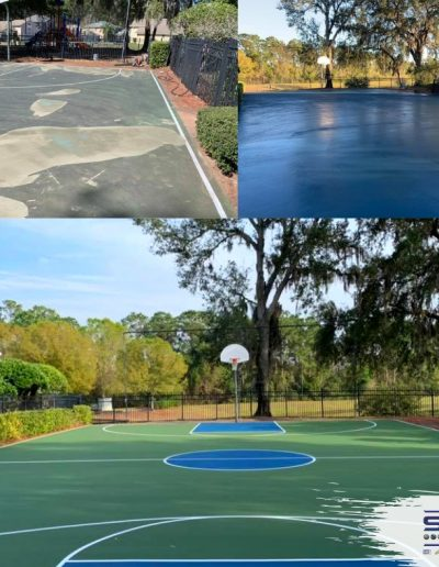 Sport Surfaces LLC Georgia Sport Surface Contractor basketball resurfacing