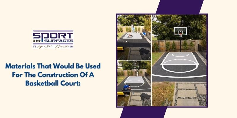 indoor basketball court flooring material